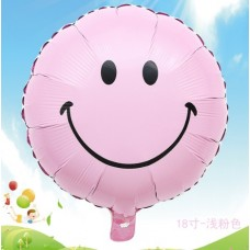 Smile Balloon, Pink Color